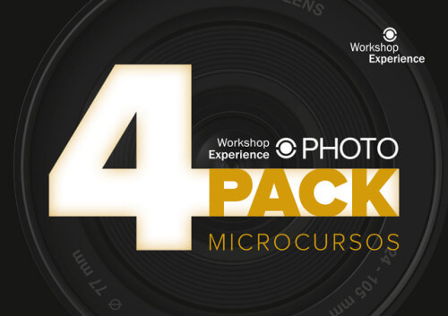 4PACK Microcursos Fotografía Workshop Experience