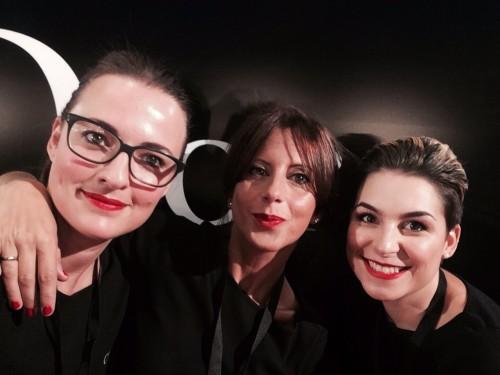 Carminia, Vanesa y Mara, de Workshop Experience en Glamour Street Fashion Show