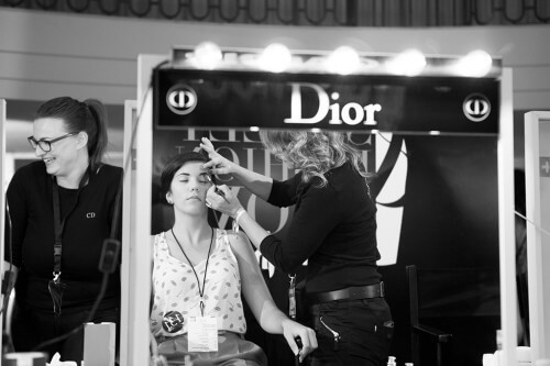 Carminia de Workshop Experience en Glamour Street Fashion Show. Fotografía de http://www.glamour.es