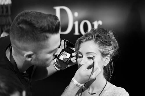 Daniel John de Workshop Experience en Glamour Street Fashion Show. Fotografía de http://www.glamour.es