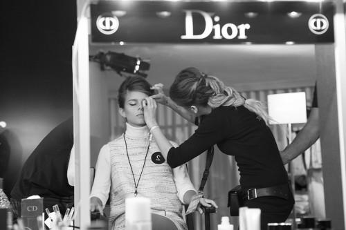 Marina, de Workshop Experience en Glamour Street Fashion Show. Fotografía de http://www.glamour.es