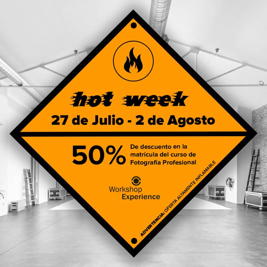 hotweek descuento curso fotografia workshop experience