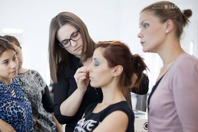 Maquillaje y la profesion en la televisión