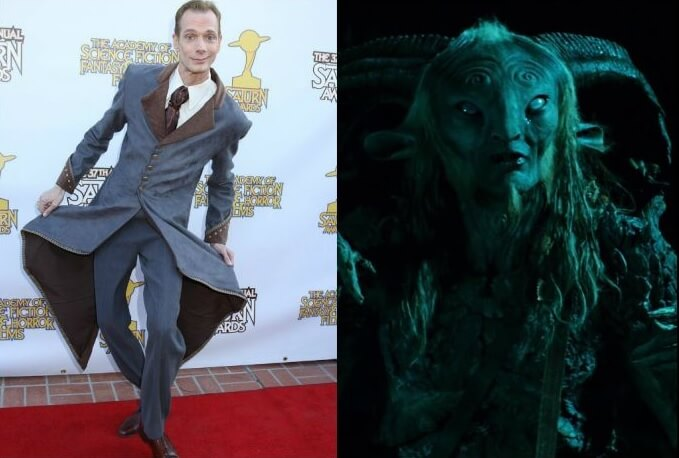 Antes y después del actor del Laberinto del Fauno