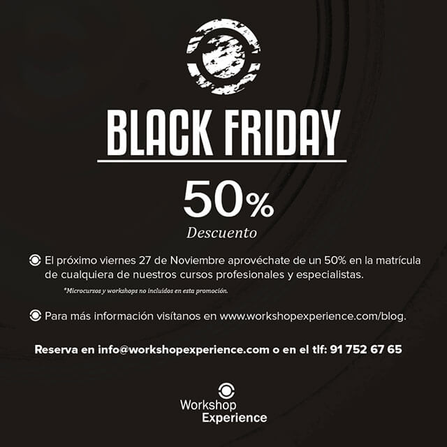 Black Friday - descuento