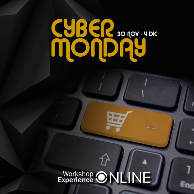 Cyber Monday - Workshop Experience Online