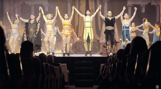 Saludo final de Hércules el musical
