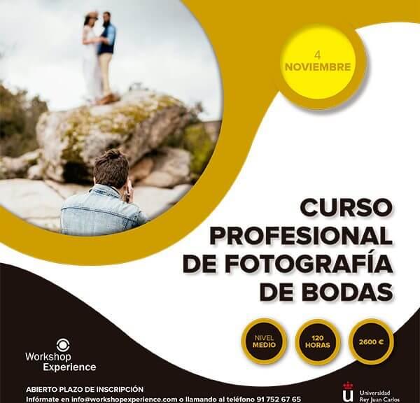 Curso de fotografía de bodas