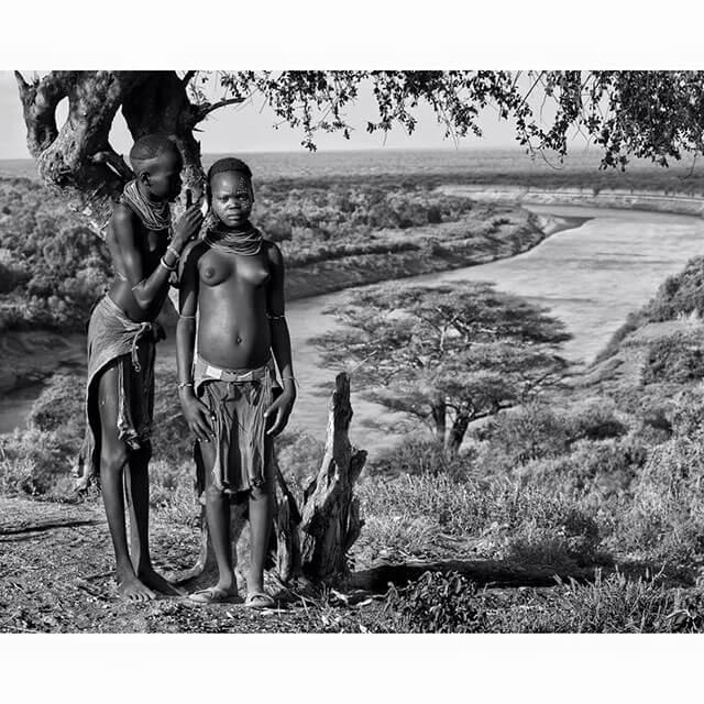 Fotografía de las tribus de Etiopía