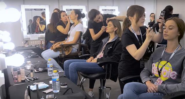 Maquillaje durante Mutua Madrid Open 2016 en la Caja Mágica por Workshop Experience