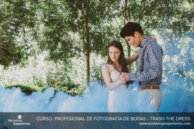Trash the Dress, lo más divertido en Fotografía de Bodas