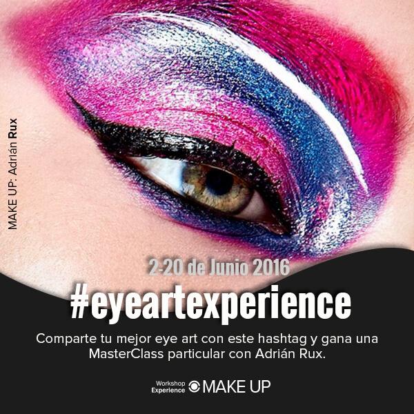 Concurso de eyer art en Workshop Experience junto a Adrián Rux
