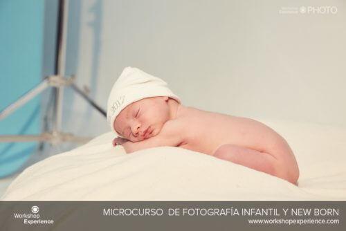 Curso de fotografía new born