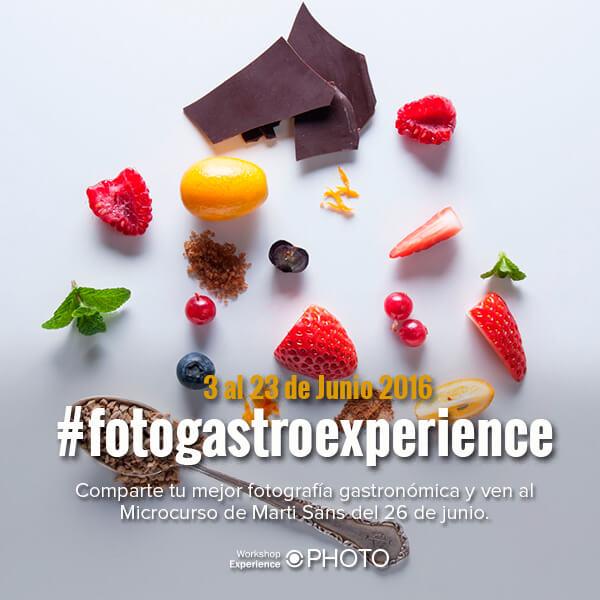 Concurso Fotografía Gastronómica con Marti Sans