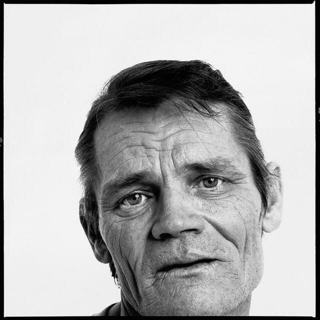 Chet Baker por Richard Avedon. Retratos en blanco y negro