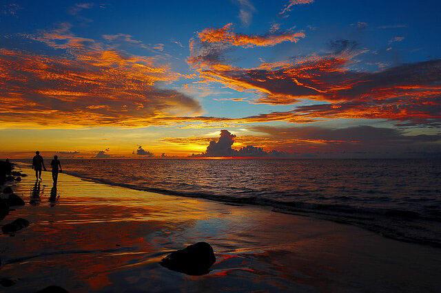 Fotografía de verano. Playa