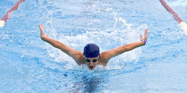 Fotografía deportiva. Natación