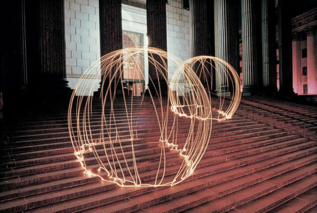 Lightpainting. Eric Staller