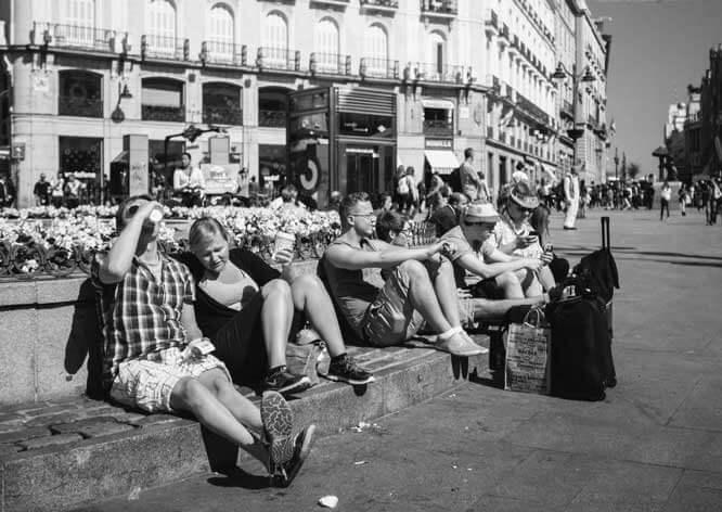 Fotografía urbana en Madrid