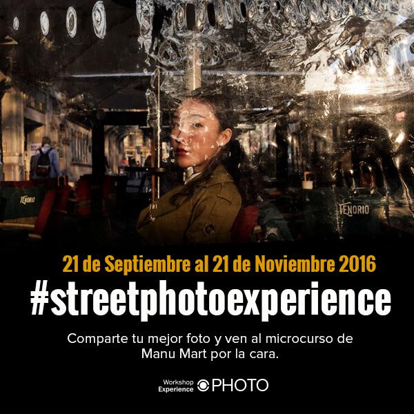 Cartel concurso Street Photo Exterience