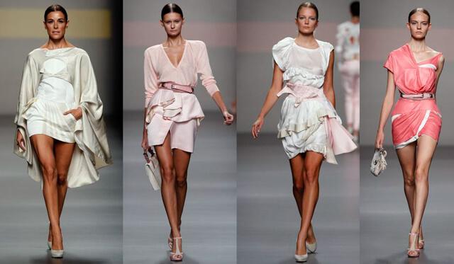 Maquillaje desfile Ion Fiz para la Mercedes Benz Fashion Week de Madrid