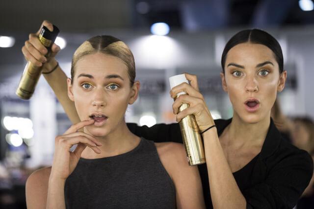Maquillaje desfile Alvaro para la Mercedes Benz Madrid Fashion Week