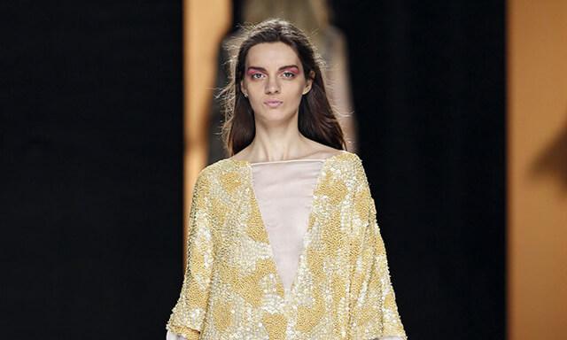 Maquillaje desfile Duyos para la Mercedes Benz Fashion Week de Madrid