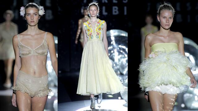 Maquillaje desfile Teresa Helbig para la Mercedes Benz Fashion Week de Madrid