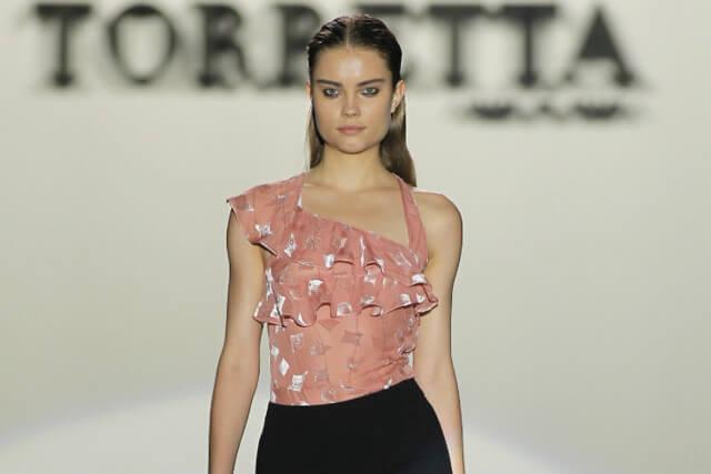 Maquillaje desfile Roberto Torretta para la Mercedes Benz Fashion Week de Madrid