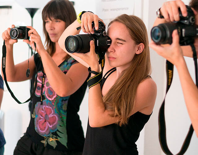 Tiempo libre iniciación a la fotografía
