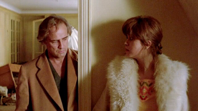 """Camel coat en """"El último tango en París"""""""