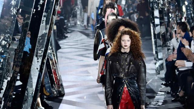 Dark Lips en el desfile de Louis Vuitton (París)
