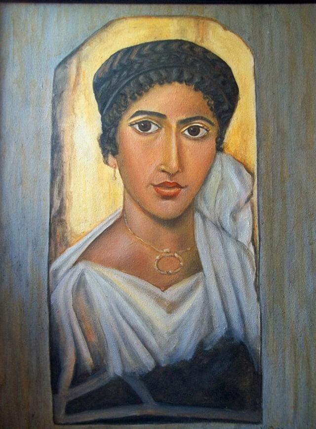 Maquillaje en Grecia