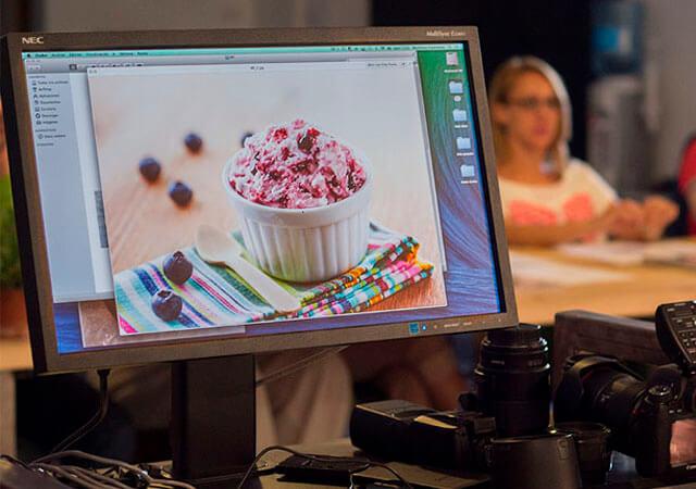 Fotografía Gastronómica digital