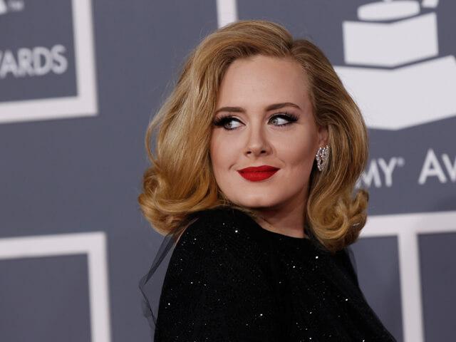 Maquillaje de Adele en la gala Grammy 2012