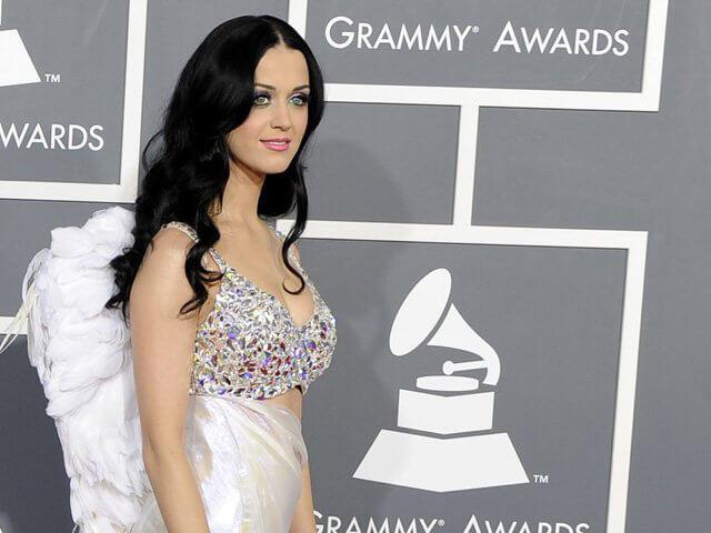 Maquillaje de Katy Perry en la gala Grammy 2013