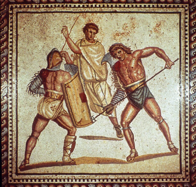 Maquillaje en la antigua Roma