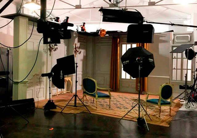 Estudio de fotografía equipamiento