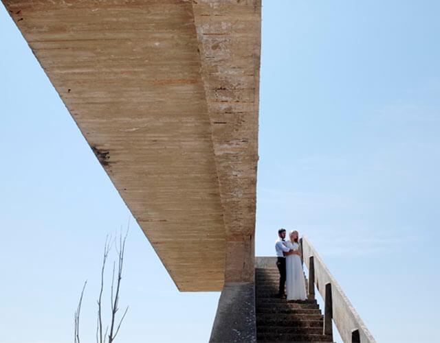 Fotoreportaje de boda posado