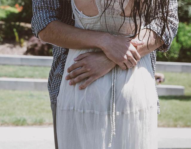 Fotoreportaje de boda abrazp