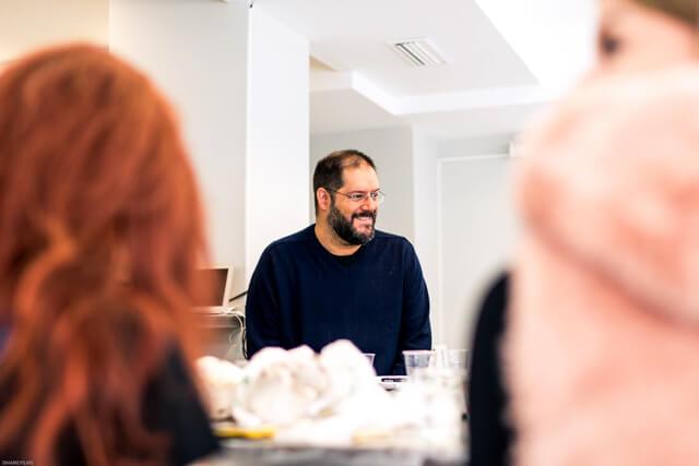 Sergio Alonso psicoanalista maquillaje