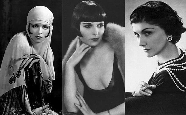 Visagismo mujeres años 20