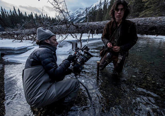Director de fotografía de The Revenant, Emmanuel Lubezi