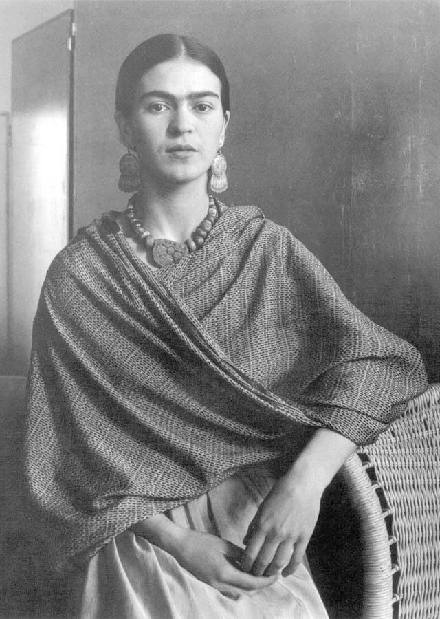 Frida Kahlo, Imogen Cunnigham | Fuente: photolicioux.wordpress.com