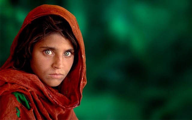 La niña afgana | Fuente: loqueva.com