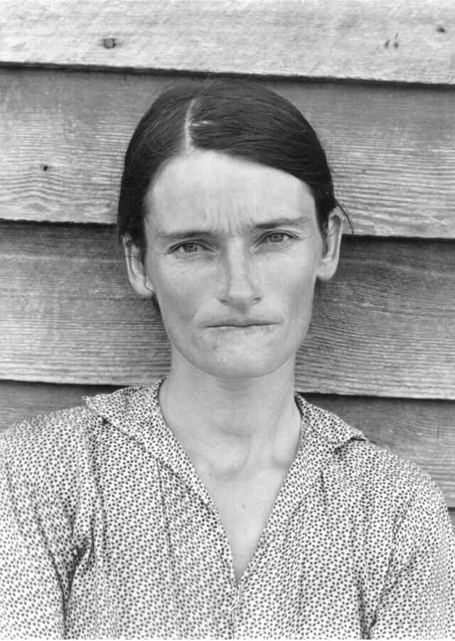 Walker Evans, Alabama Tenant Farmer Wife | Fuente: Pinterest
