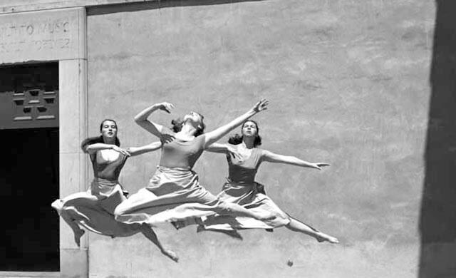 Imogen Cunnigham Three Dancers, Mills College | Fuente: ArtStack