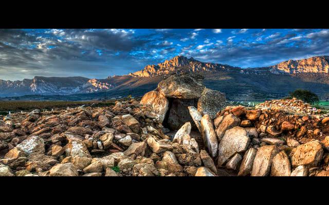 Fotografía de paisaje: Dólmenes de Laguardia | Fuente: www.laguardia-alava.com