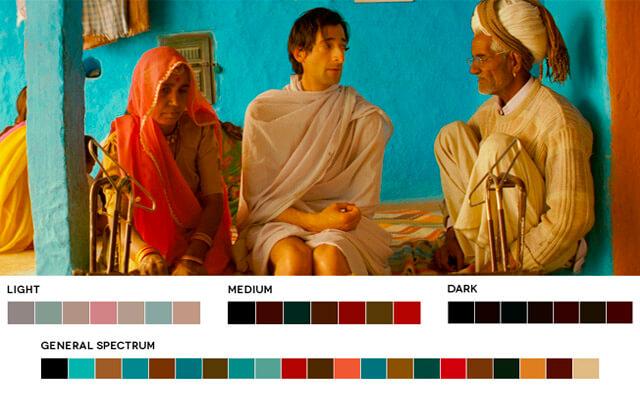 Director de fotografía Robert Yeoman paleta de colores
