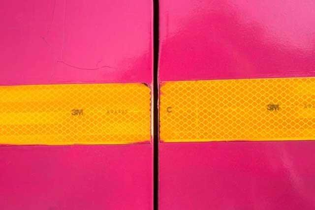 Fotografía abstracta en rosa y amarillo